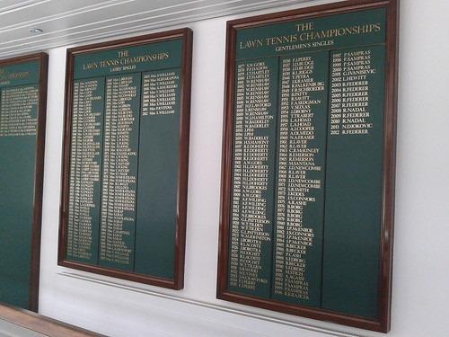 Championship Winners' Boards