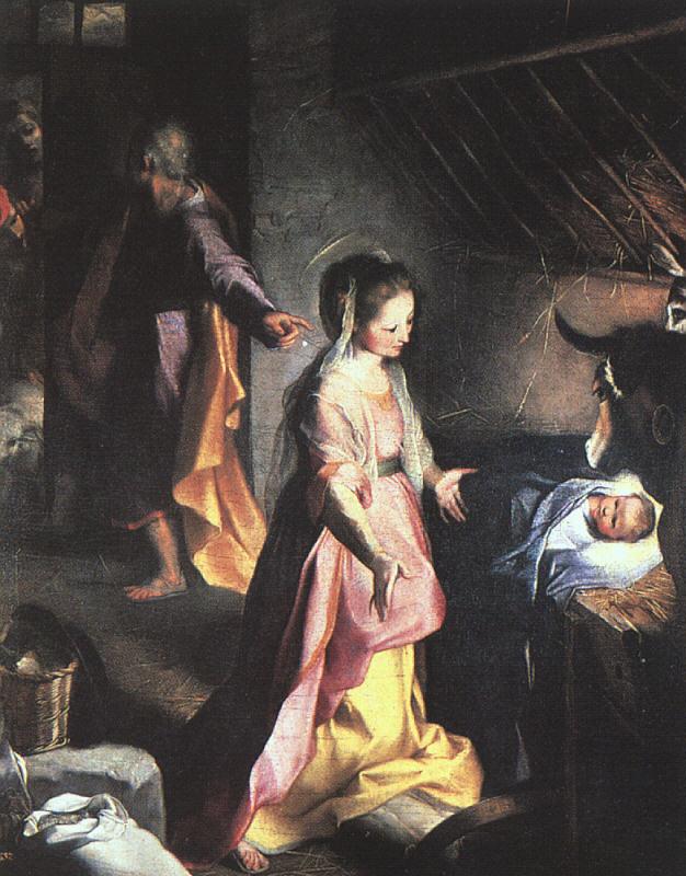 Nativity, Barocci