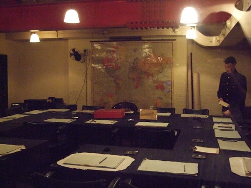 The War Cabinet meeting room