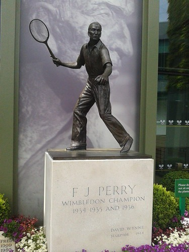 Statue of F.J. Perry