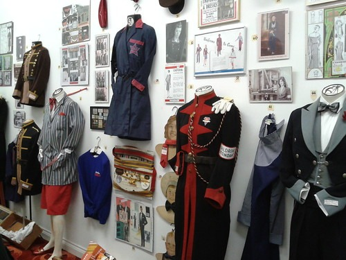 Exhibition of cinema uniforms