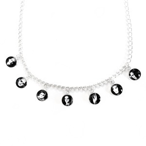The Addams Family Charm Necklace