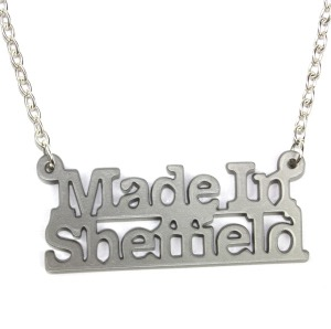 Made in Sheffield Necklace (Silver)