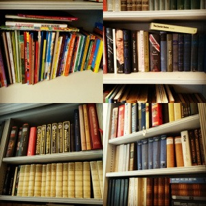 The library at Pushkin House