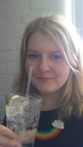 Me with gin