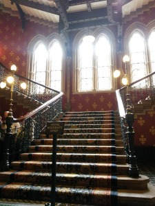 'Spice Girls' staircase