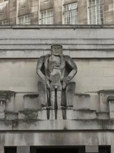 Epstein's controversial sculpture