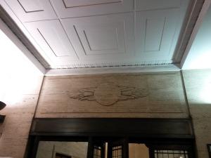 Roundel design in the building