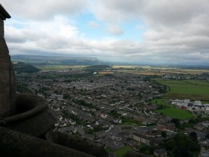 View from the Wallace Monument