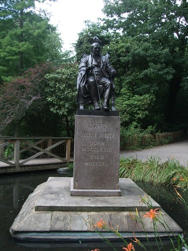 Statue of Lord Holland
