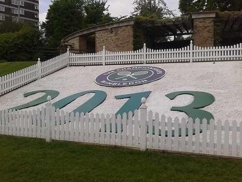 Wimbledon logo and colours