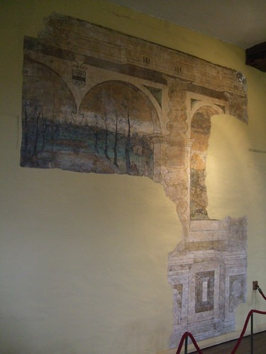 Remains of the mural