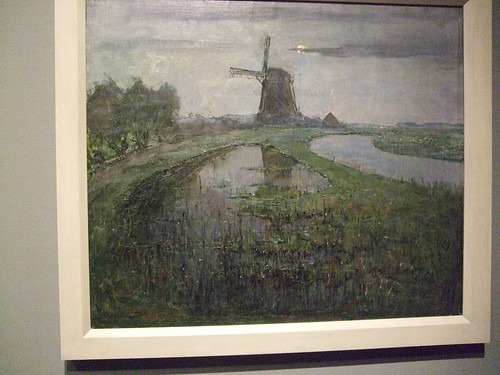 Painting of a windmill